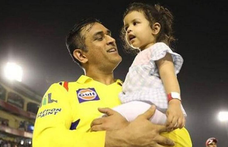 dhoni ziva the father