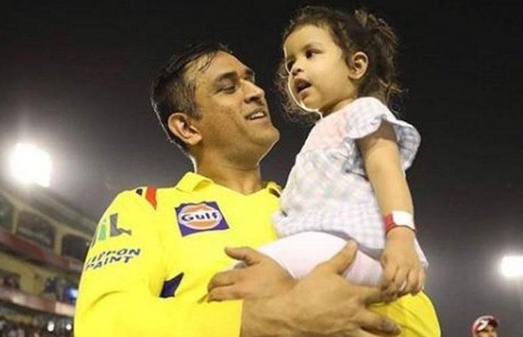 dhoni ziva the father